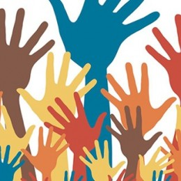 People of Color Now. (2015, January 27). [A multitude of colorful hands raised] [Illustration]. Retrieved from https://www.pastemagazine.com/articles/2015/01/10-travel-bloggers-of-color-you-should- follow.html